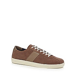 Hammond & Co. by Patrick Grant - Taupe suede 'Richmond' trainers