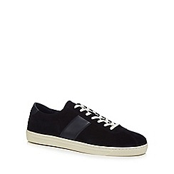 Hammond & Co. by Patrick Grant - Navy suede 'Richmond' trainers