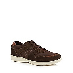 Henley Comfort - Brown suede 'Edward' trainers