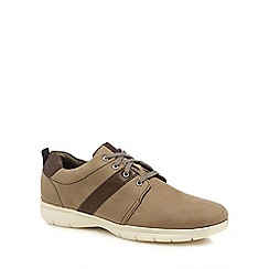 Henley Comfort - Taupe nubuck 'Morris' Derby shoes