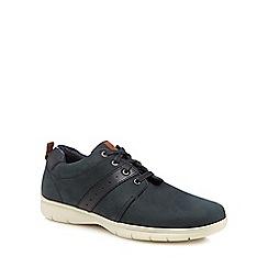 Henley Comfort - Navy nubuck 'Morris' Derby shoes