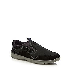 Henley Comfort - Black 'Winston' slip-on shoes