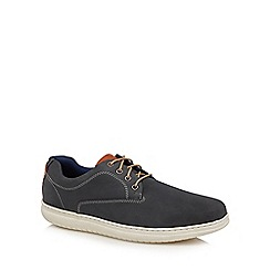 Henley Comfort - Blue leather 'Raymond' Derby shoes