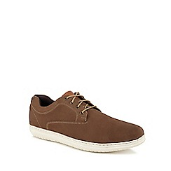 Henley Comfort - Taupe leather 'Raymond' trainers