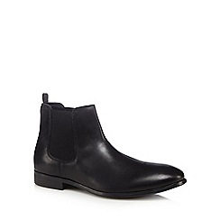 The Collection - Black leather 'Elliot' Chelsea boots