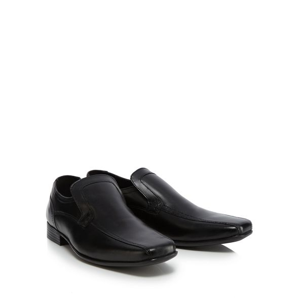 on Collection The slip leather shoes Black 'Jeremy' wX6q1