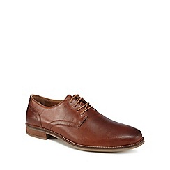Red Herring - Tan leather 'Donte 2' Derby shoes