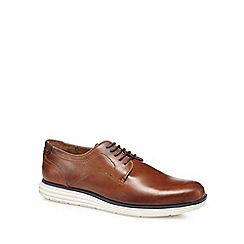 Red Herring - Brown leather 'Etienne' Derby shoes