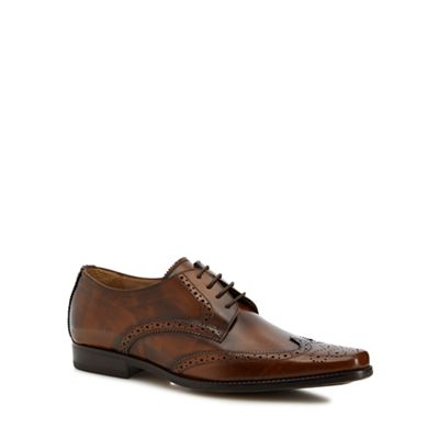 Jeff Banks - Tan leather 'Aire' brogues