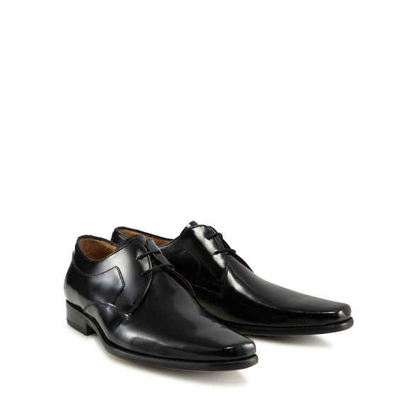 Banks shoes leather Jeff Black Derby 'Kenneth' PqwXBd