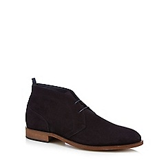 Hammond & Co. by Patrick Grant - Navy suede 'Fulham' desert boots
