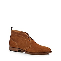 Hammond & Co. by Patrick Grant - Tan suede 'Fulham' desert boots