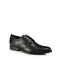 J by Jasper Conran - Black leather 'Varenna' brogues
