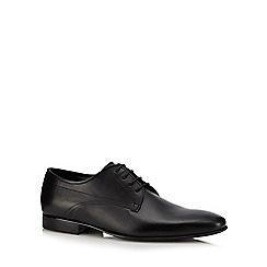 J by Jasper Conran - Black leather 'Torno' Derby shoes