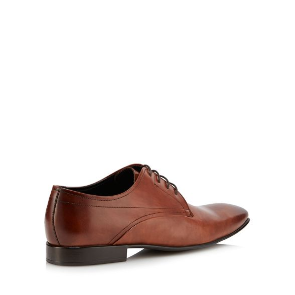 Derby by leather shoes Tan Jasper Conran J 'Torno' YwB466q