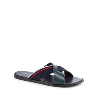 Mantaray - Navy 'Santorini' sandals Fashionable and eye-catching shoes