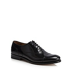 Hammond & Co. by Patrick Grant - Black leather 'Oscar' good year welted Oxford shoes