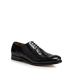 Hammond & Co. by Patrick Grant - Black leather 'Hugo' good year welted Oxford brogues
