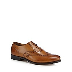 Hammond & Co. by Patrick Grant - Tan leather 'Hugo' good year welted Oxford brogues