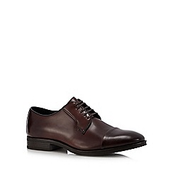 J by Jasper Conran - Brown leather 'Veneto' Derby shoes