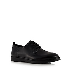 J by Jasper Conran - Black leather 'Siena' Derby shoes