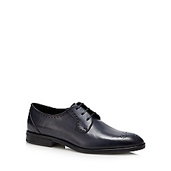 Hammond & Co. by Patrick Grant - Navy leather 'Tetbury' Derby shoes