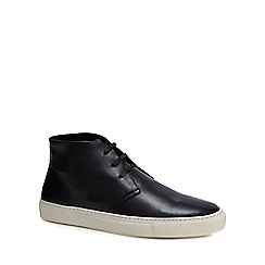 J by Jasper Conran - Black leather 'Turin' chukka boots