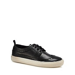 J by Jasper Conran - Black 'Tivoli' cupsole brogue
