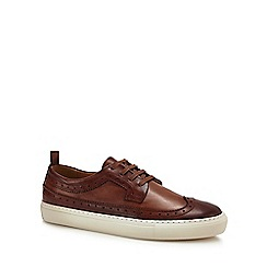 J by Jasper Conran - Tan 'Tivoli' cupsole brogue