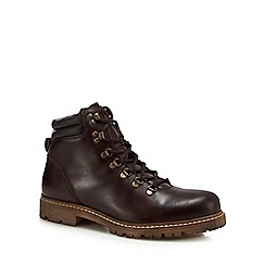 Hammond & Co. by Patrick Grant - Brown leather 'Cleeve' lace up boots