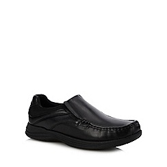 Red Herring - Black 'Tucker' Slip-On Shoes