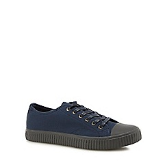 Red Herring - Navy 'Ezra' plimsol trainers