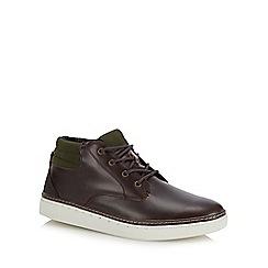 Red Herring - Dark brown 'Carter' chukka boots