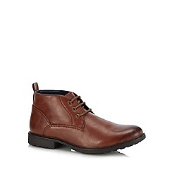 Red Herring - Brown 'Jackson' chukka boots