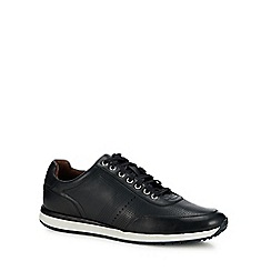 J by Jasper Conran - Navy leather 'Trento' trainers