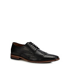 J by Jasper Conran - Black leather 'Festa' brogues