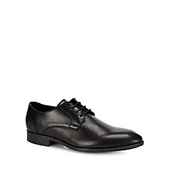 Red Herring - Black 'Tegs' lace up shoes