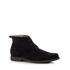Henley Comfort - Navy suede 'idle' chukka boots