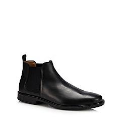 Henley Comfort - Black suede 'Bailey' Chelsea boots