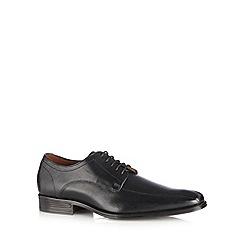 Jeff Banks - Black leather Derby shoes