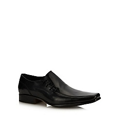 paolo sartori - Black Leather 'Montaugue' Lace Up Shoes