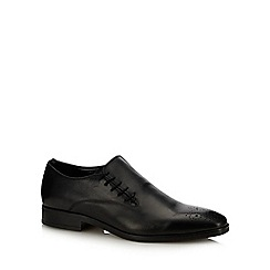 paolo sartori - Black Leather 'Capulet' Lace Up Shoes