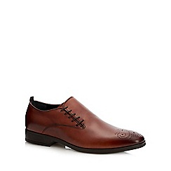 paolo sartori - Tan leather 'capulet' lace up shoes