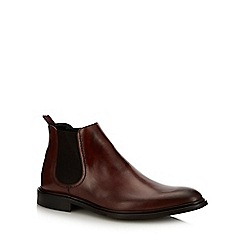 paolo sartori - Tan leather 'Mercutio' Chelsea boots