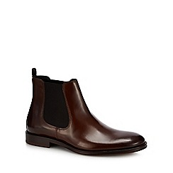 Hammond & Co. by Patrick Grant - Tan leather 'Coast' Chelsea boots