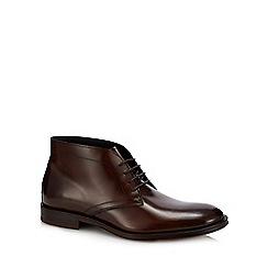 Hammond & Co. by Patrick Grant - Tan leather 'Goodge' chukka boots