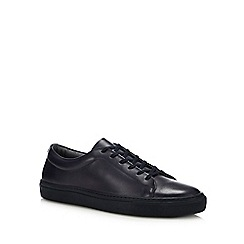 J by Jasper Conran - Navy Leather 'Sorrento' Trainers