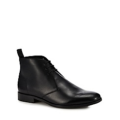 Hammond & Co. by Patrick Grant - Black leather 'Brampton' chukka boots