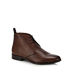 Hammond & Co. by Patrick Grant - Brown leather 'Brampton' chukka boots