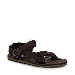 Mantaray - Brown 'Crete' Sandals